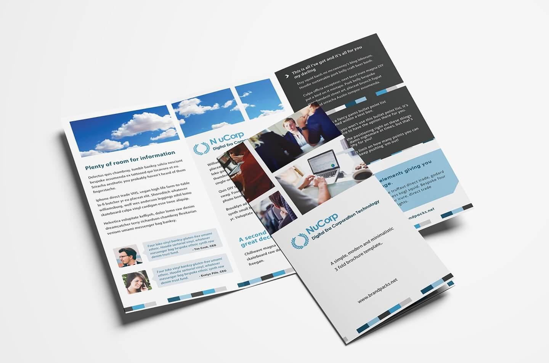 15 Free Tri Fold Brochure Templates In Psd & Vector – Brandpacks Pertaining To Brochure Templates Adobe Illustrator