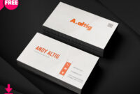 150+ Free Business Card Psd Templates intended for Freelance Business Card Template