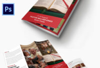 16+ Popular Church Brochure Templates – Ai,psd, Docs, Pages For Free Church Brochure Templates For Microsoft Word