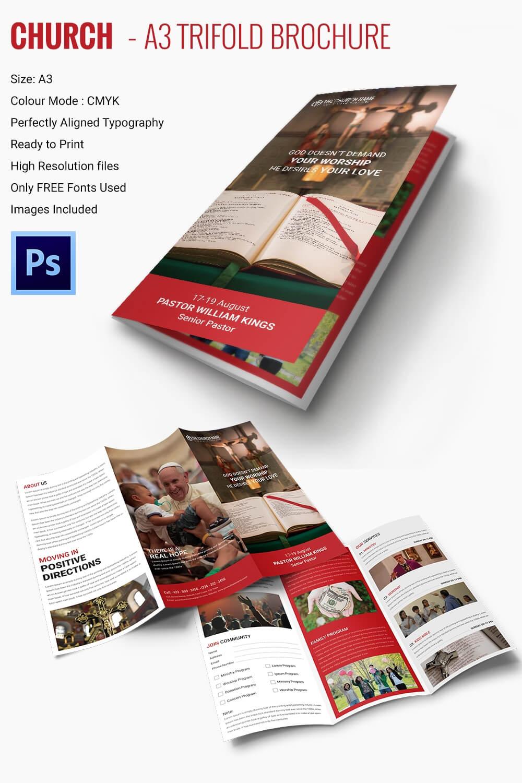 16+ Popular Church Brochure Templates – Ai,psd, Docs, Pages For Free Church Brochure Templates For Microsoft Word