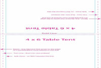 16 Printable Table Tent Templates And Cards ᐅ Template Lab within Table Reservation Card Template