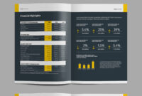 17 New Creative Brochure / Catalog Templates – Mockup Depot regarding Chairman's Annual Report Template