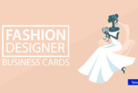 18+ Fashion Designer Business Card Templates – Ai, Pages within Pages Business Card Template