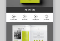 18+ Professional Business Project Proposal Templates For intended for Free Business Proposal Template Ms Word