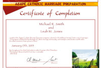 19 Fresh Premarital Counseling Certificate with Premarital Counseling Certificate Of Completion Template