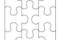 19 Printable Puzzle Piece Templates ᐅ Template Lab for Blank Jigsaw Piece Template