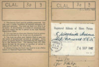 1939 Register | The Wartime National Register | Trace Ww2 within World War 2 Identity Card Template