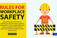 2 General Workplace Safety Rules & Templates – Word | Free inside Business Rules Template Word