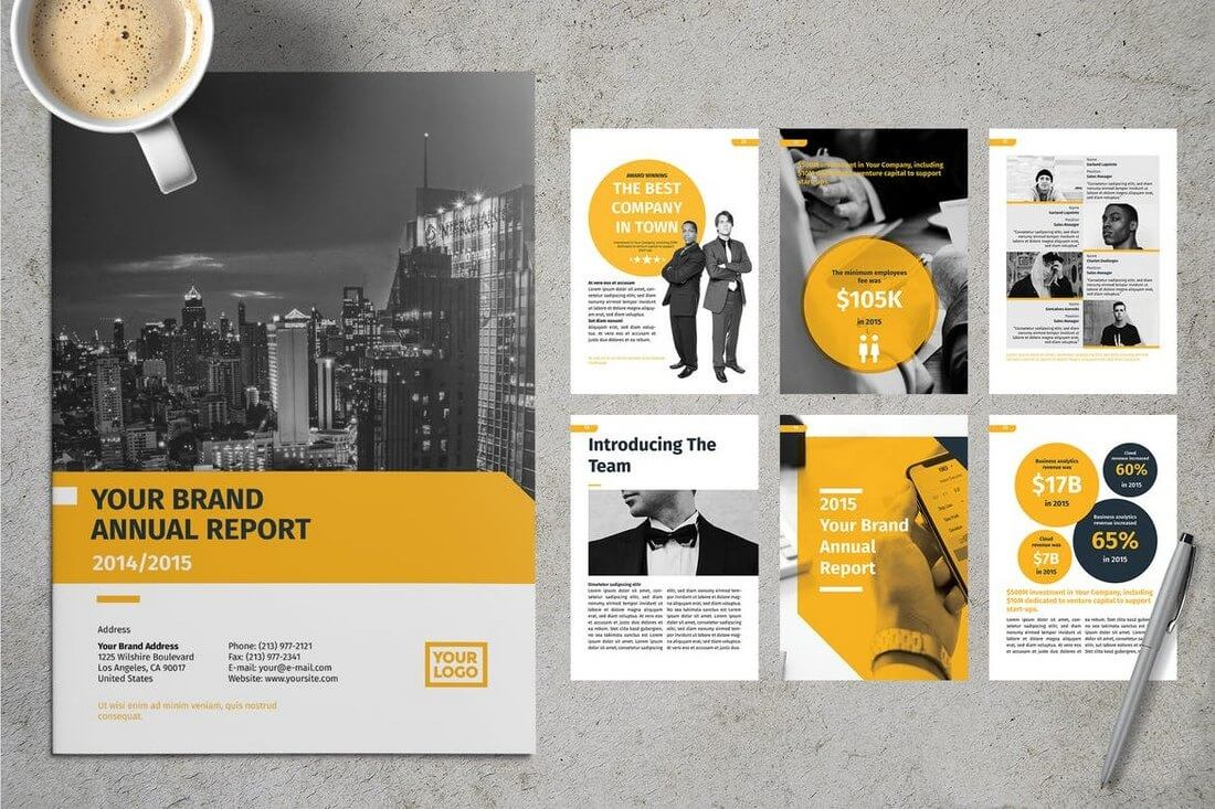20+ Annual Report Templates (Word & Indesign) 2019 - Do A Regarding Annual Report Template Word