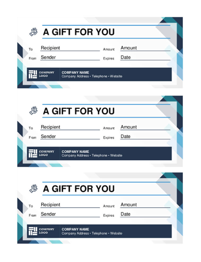 20 Best Free Business Gift Certificate Templates (Ms Word Pertaining To Microsoft Gift Certificate Template Free Word