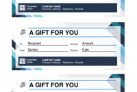 20 Best Free Business Gift Certificate Templates (Ms Word Within Gift Certificate Template Indesign