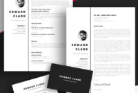20 Best Free Pages & Ms Word Resume Templates For Mac (2019) for Business Card Template Pages Mac