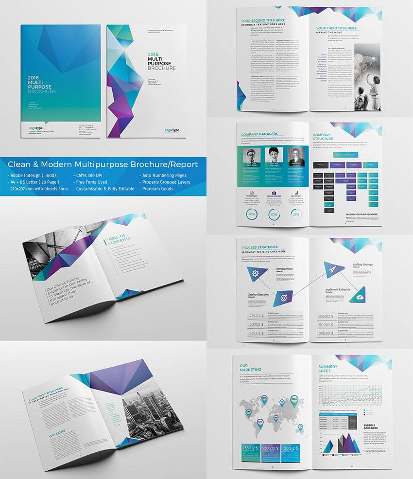 20 Best #indesign Brochure Templates - Creative Business In Adobe Indesign Brochure Templates