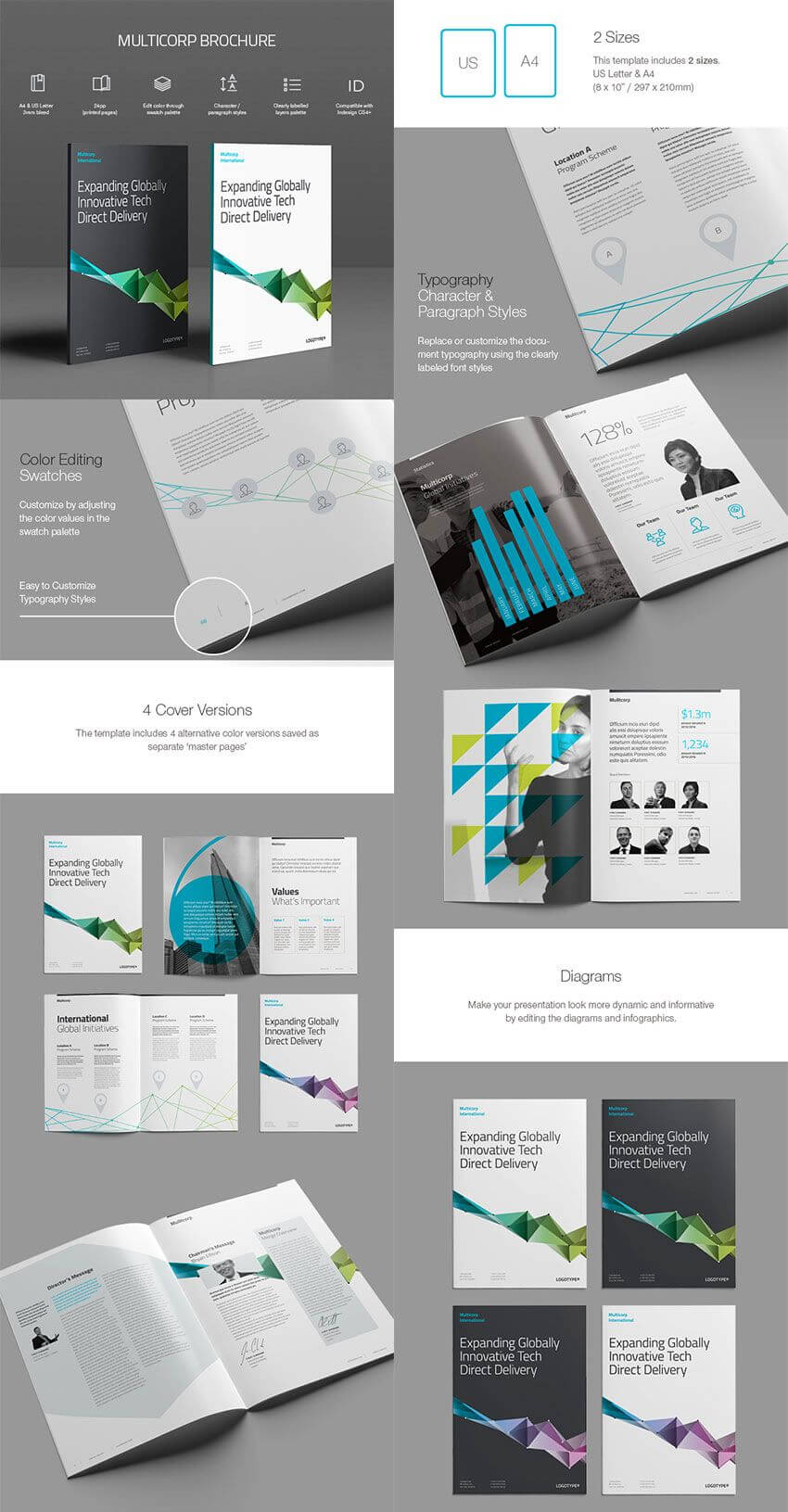 20 Best Indesign Brochure Templates – For Creative Business With Indesign Templates Free Download Brochure