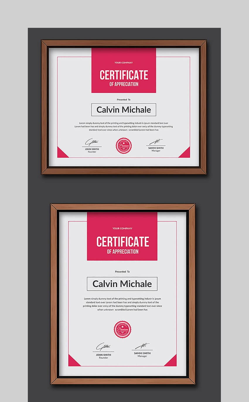 20 Best Word Certificate Template Designs To Award Throughout Free Funny Certificate Templates For Word