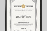 20 Best Word Certificate Template Designs To Award with Award Certificate Templates Word 2007