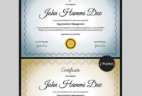 20 Best Word Certificate Template Designs To Award within Small Certificate Template