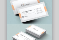 20+ Double-Sided, Vertical Business Card Templates (Word, Or in 2 Sided Business Card Template Word