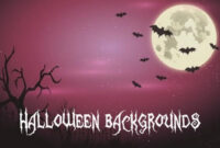 20 Free Halloween Backgrounds And Poster Templates – Super pertaining to Free Halloween Templates For Word