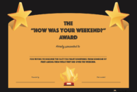 20 Hilarious Office Awards To Embarrass Your Colleagues intended for Funny Certificates For Employees Templates