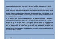 20+ Police Report Template & Examples [Fake / Real] ᐅ In Fake Police Report Template