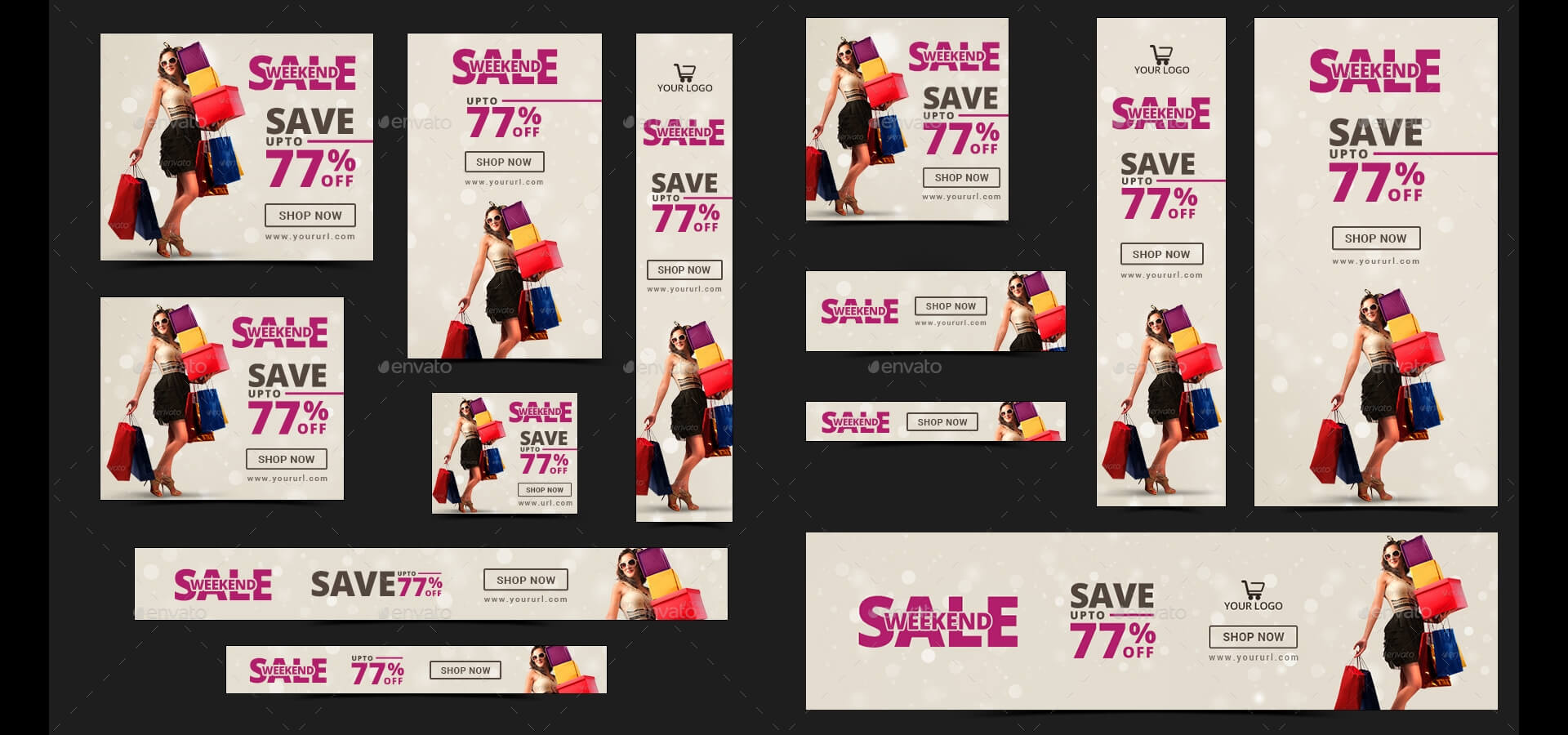 20 + Printable Product Sale Banners - Psd, Ai, Eps Vector Within Product Banner Template