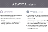 20+ Swot Analysis Templates, Examples & Best Practices throughout Strategic Analysis Report Template