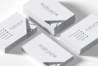 200 Free Business Cards Psd Templates – Creativetacos in Blank Business Card Template Photoshop