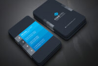 200 Free Business Cards Psd Templates – Creativetacos intended for Visiting Card Psd Template