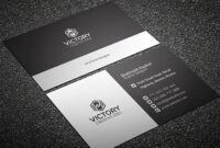 200 Free Business Cards Psd Templates – Creativetacos pertaining to Calling Card Psd Template
