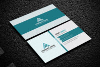 200 Free Business Cards Psd Templates – Creativetacos pertaining to Psd Name Card Template