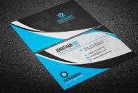 200 Free Business Cards Psd Templates – Creativetacos pertaining to Visiting Card Psd Template