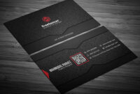200 Free Business Cards Psd Templates – Creativetacos with regard to Name Card Photoshop Template