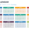 2019 Calendar Powerpoint Templates Throughout Microsoft Powerpoint Calendar Template