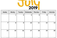 2019 Free Printable Calendar For Kids ('cause Children Love with regard to Blank Calendar Template For Kids