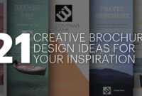 21 Creative Brochure Cover Design Ideas For Your Inspiration for Welcome Brochure Template