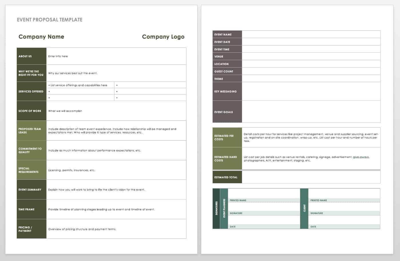 21 Free Event Planning Templates | Smartsheet With Regard To Post Event Evaluation Report Template
