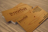 21+ Wooden Business Card Templates – Word, Publisher, Psd pertaining to Staples Business Card Template Word