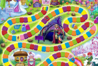 233 Candyland Free Clipart – 2 throughout Blank Candyland Template