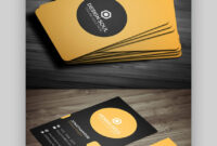 24 Premium Business Card Templates (In Photoshop for Visiting Card Templates For Photoshop