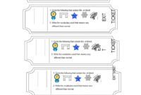 24 Printable Exit Ticket Templates (Word & Pdf) ᐅ Template Lab For Template For Cards In Word