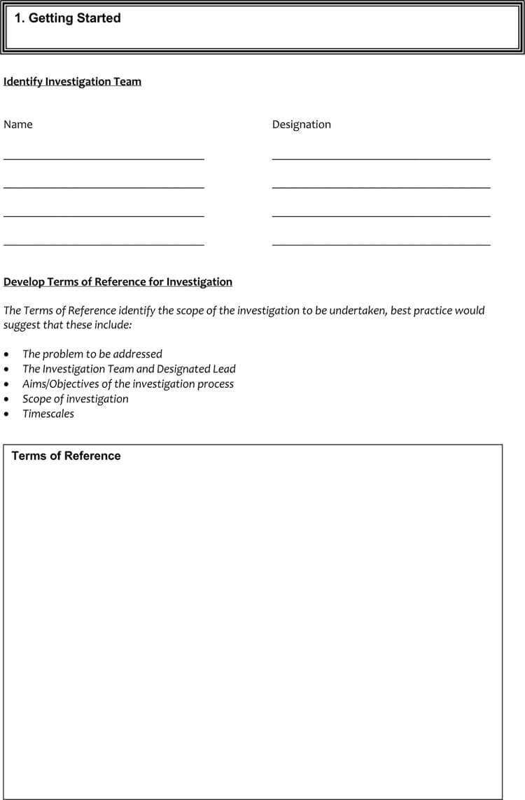 24+ Root Cause Analysis Templates (Word, Excel, Powerpoint With Failure Investigation Report Template