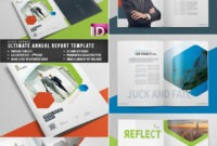 25+ Best Annual Report Templates – With Creative Indesign pertaining to Annual Report Template Word