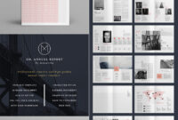 25+ Best Annual Report Templates – With Creative Indesign pertaining to Free Indesign Report Templates