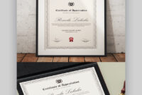25+ Best Certificate Design Templates: Awards, Gifts intended for Professional Award Certificate Template
