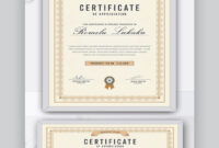 25+ Best Powerpoint Certificate Templates (Free Ppt + inside Commemorative Certificate Template