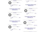 25 Cool Membership Card Templates & Designs (Ms Word) ᐅ within Template For Membership Cards