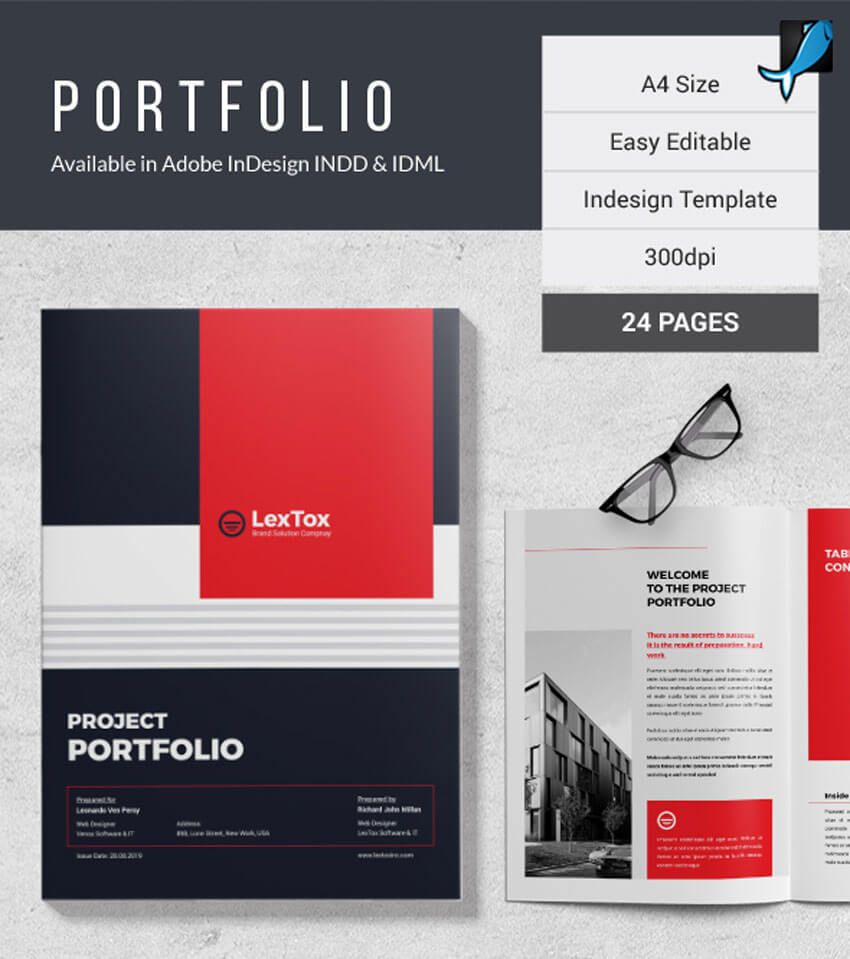 25 Creative Free Indesign Templates Intended For Indesign Templates Free Download Brochure