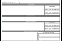 25 Images Of Qc Non-Conformance Report Template | Gieday with Non Conformance Report Form Template
