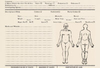 25 Images Of Sample Autopsy Report Blank Template | Gieday pertaining to Coroner's Report Template